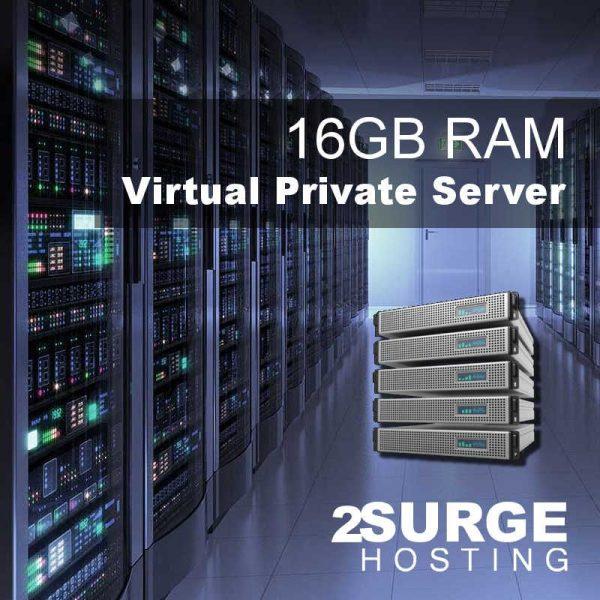 Services - 16GB RAM VPS Hosting